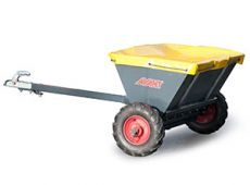 Towable sand/salt spreader
