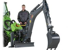 Backhoe 260 with remote control