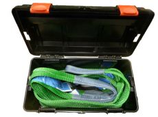 Lifting kit, for machines with ROPS frame