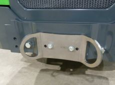 Tie down bracket in the rear/on the sides