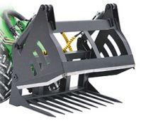 Silage block cutter